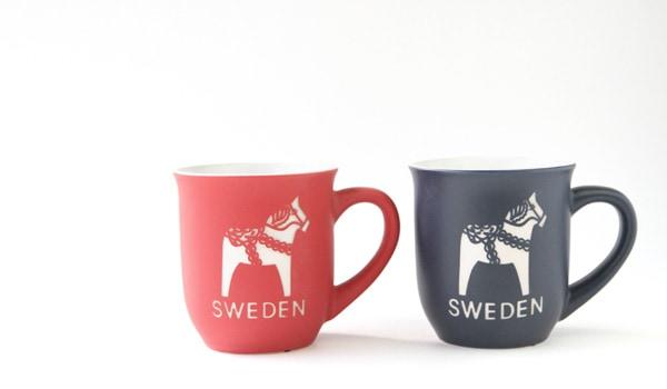 北欧雑貨 マグカップ ダーラナホース