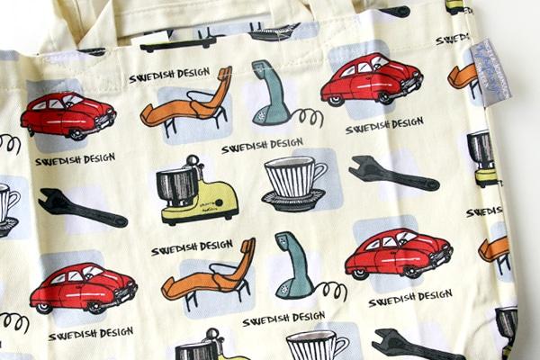 スウェーデンデザイン トートバッグ