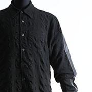 ATオコテックエンボスシャツ