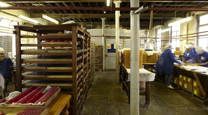 手作りアロマソープ工場