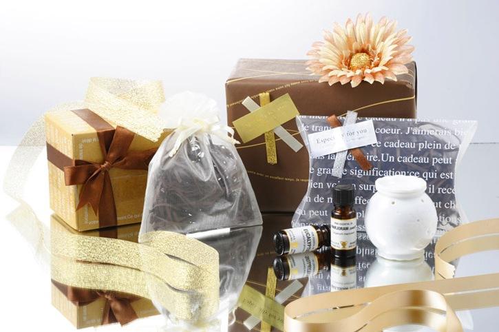 プレゼントなら癒しのアロマギフト