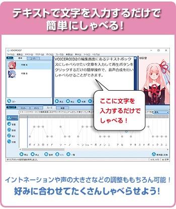 「VOICEROID2 琴葉 茜・葵」製品イメージ01