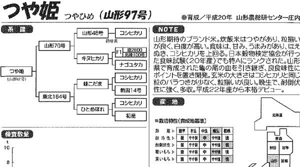 つや姫の系譜