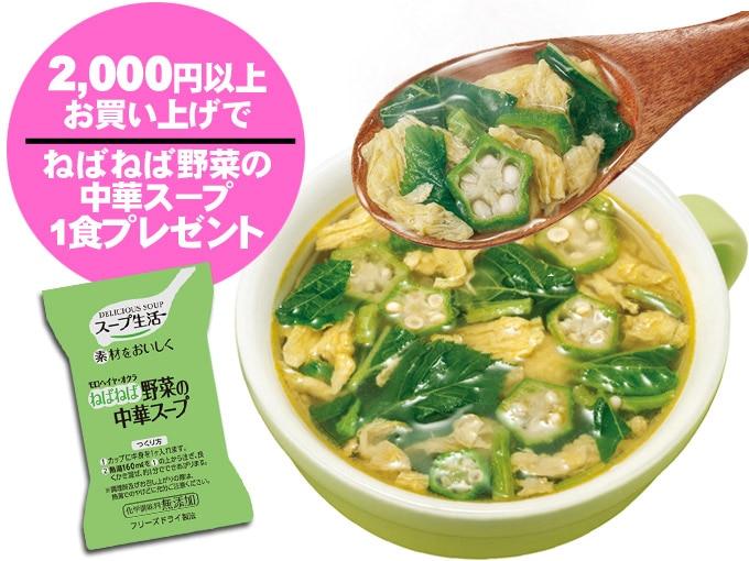 2000円以上でプレゼント