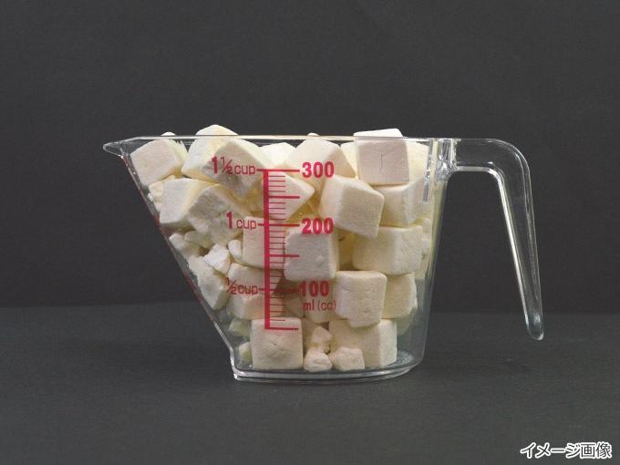 フリーズドライ豆腐の量