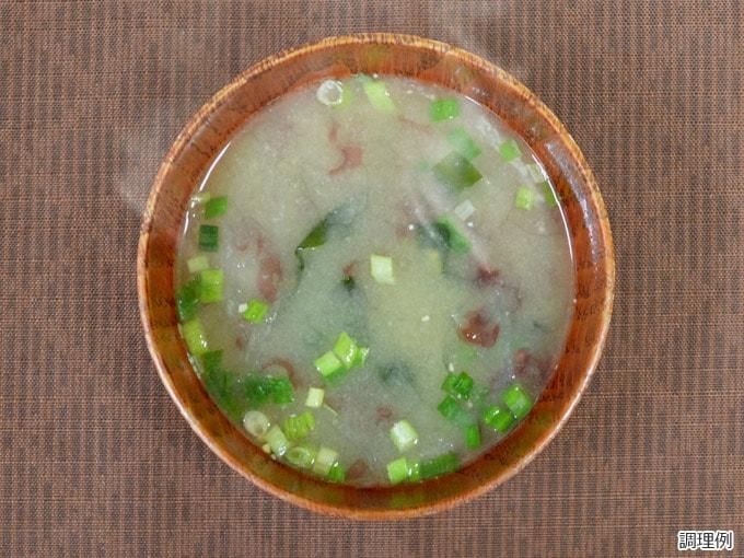 商品説明 減塩味噌汁海藻