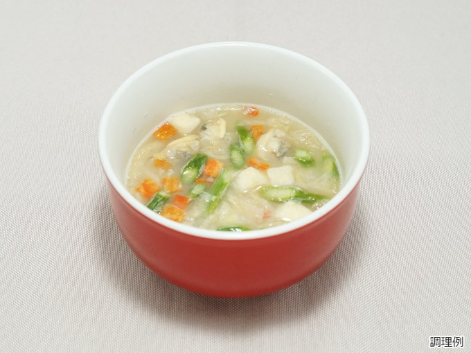 スープ調理後イメージ画像