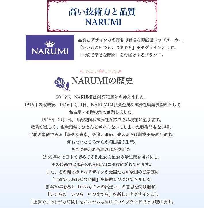 NARUMIの歴史