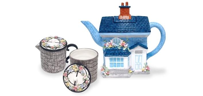イギリスの家シリーズ春のティータイムセット