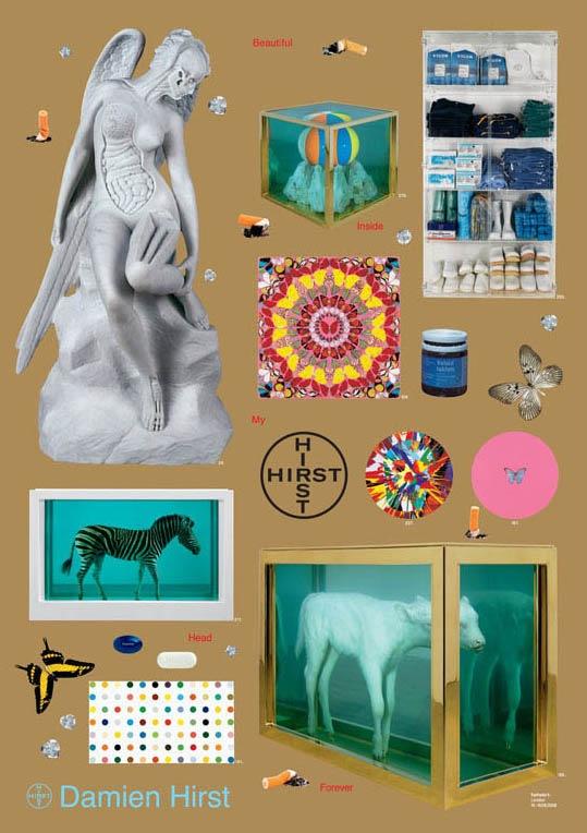 『Beautiful Inside My Head Forever(ダミアン ハースト)』ダミアン・ハースト(Damien Hirst) | ポスター通販のアズポスター