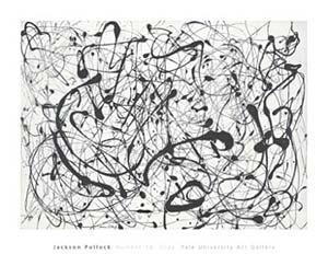 『Number 14 Gray』ジャクソン・ポロック(Jackson Pollock) | ポスター通販のアズポスター