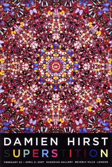 Superstition 2007年 サイン入り(ダミアン ハースト)ダミアン・ハースト(Damien Hirst) | ポスター通販のアズポスター