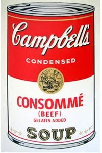 Sunday B Morning キャンベル缶 Consomme(証明書付)