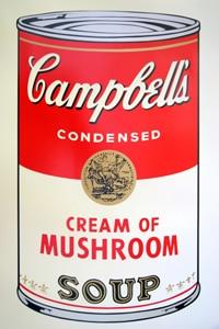 Sunday B Morning キャンベル缶 Mushroom(証明書付)