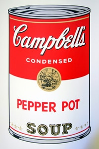 Sunday B Morning キャンベル缶 Pepperpot(証明書付)
