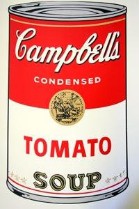 Sunday B Morning キャンベル缶 Tomato(証明書付)