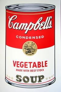 Sunday B Morning キャンベル缶 Vegetable(証明書付)