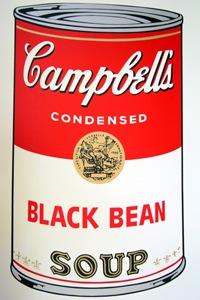 Sunday B Morning キャンベル缶 Blackbean(証明書付)