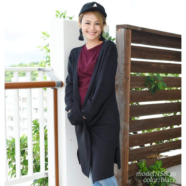ロングカーティガン[マタニティ服]17c04