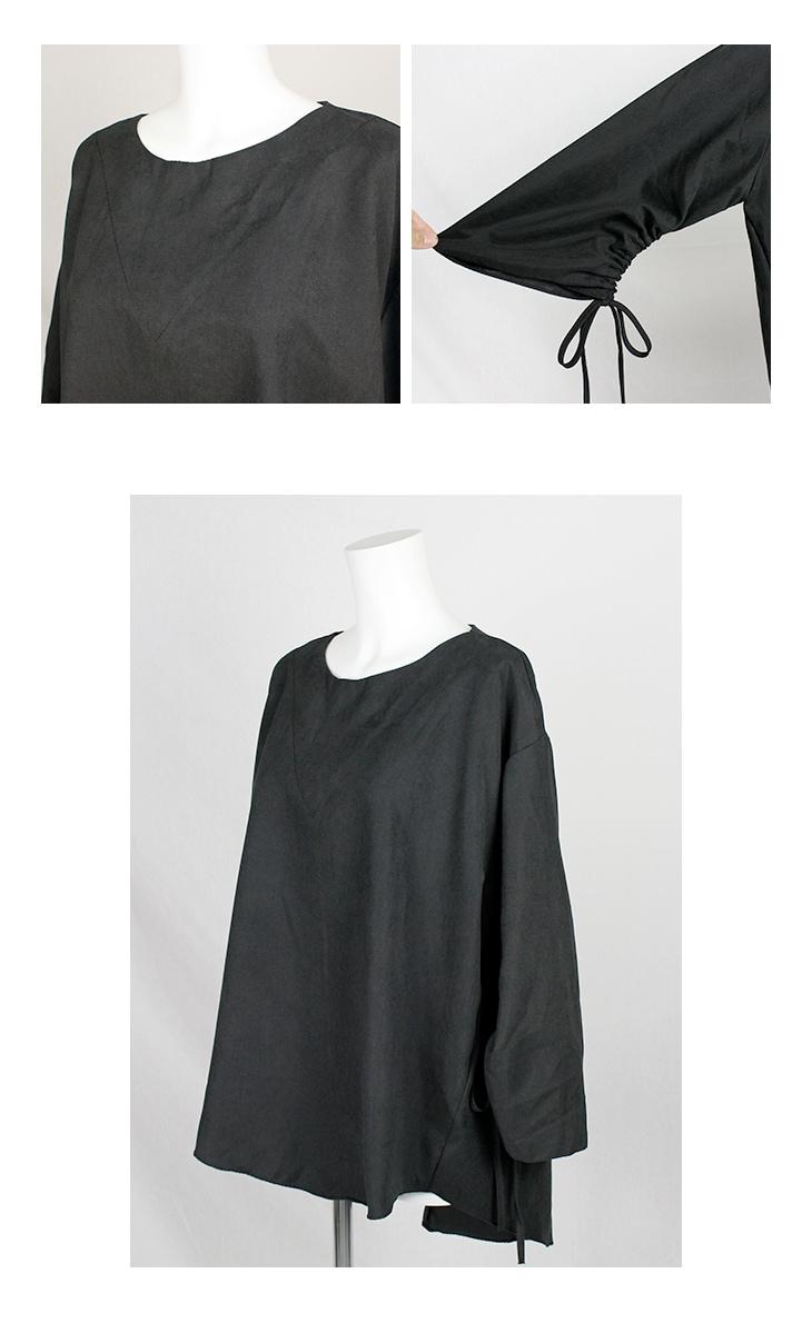 袖リボントップス[マタニティ服]17c10