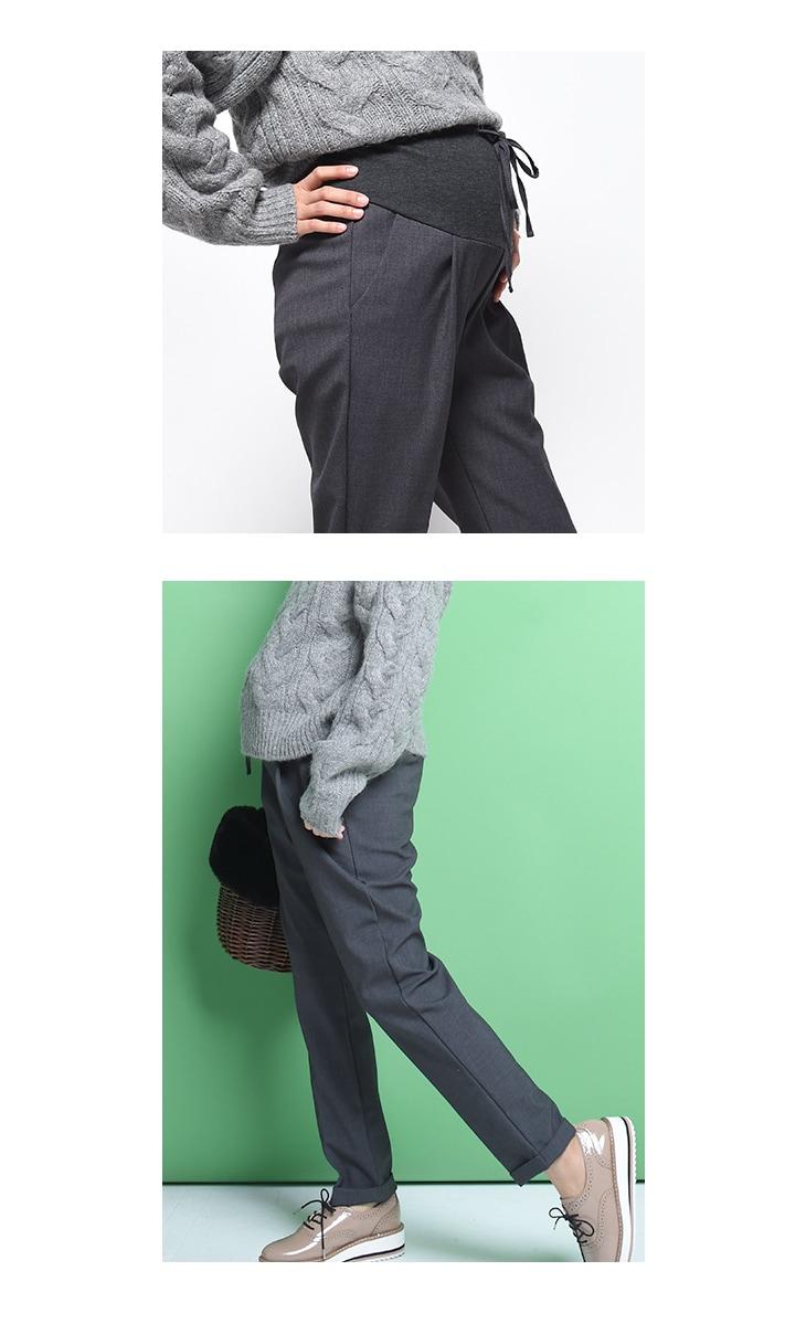 秋冬スラックスパンツ[マタニティ服]17c20