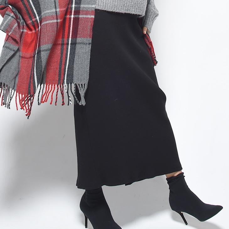 リブロングスカート[マタニティ服]17c25