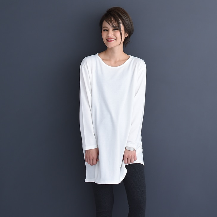 シンプルロンT[マタニティ服]18c04