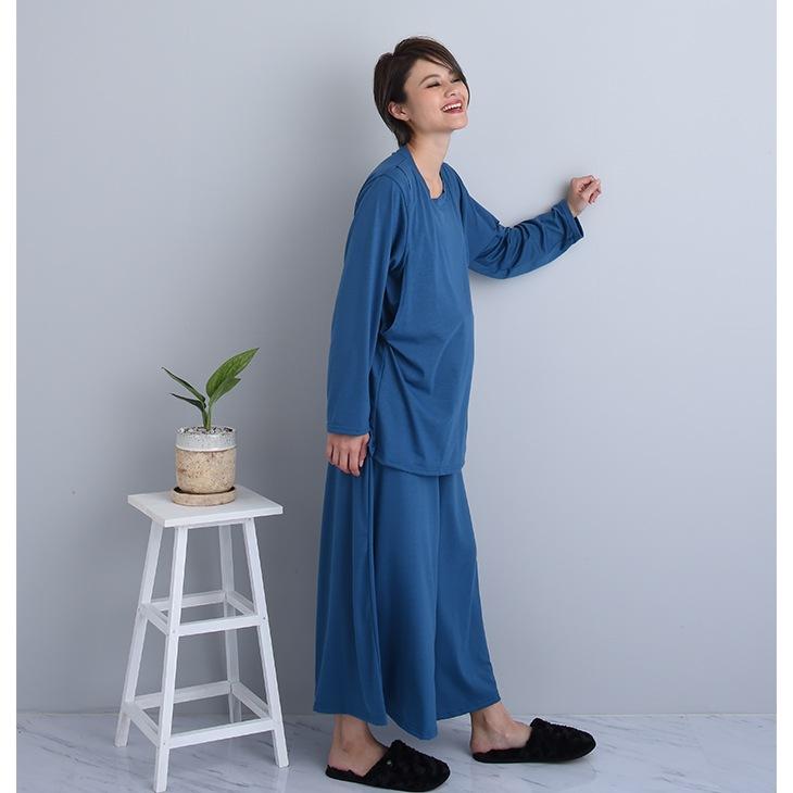授乳ルームウェア[マタニティ服/授乳服]18c07