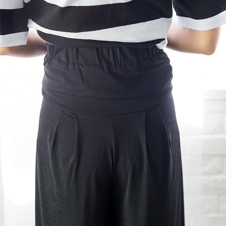 ソフトワイドパンツ[マタニティ服]61k-3113