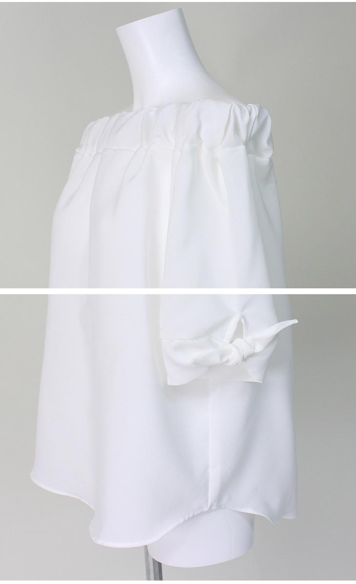 プレーンオフショルダー[マタニティ服]61k-3127