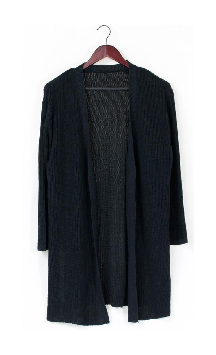 袖フレアロングカーディガン[マタニティ服]61k-3138