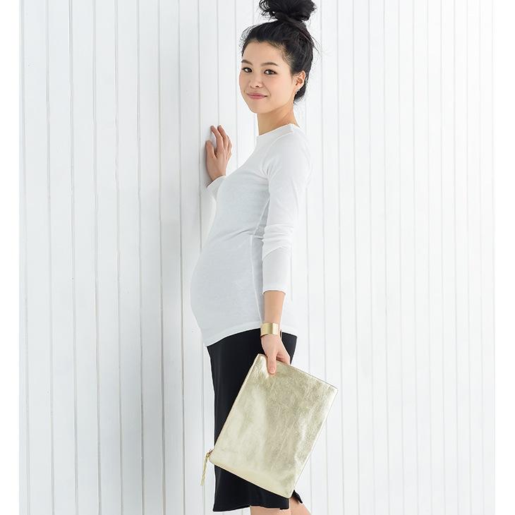 シンプルタイトトップス[マタニティ服]61k-3185