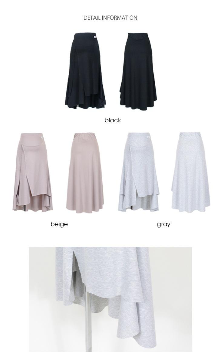 フィッシュテールスカート【マタニティ服】71k-3268