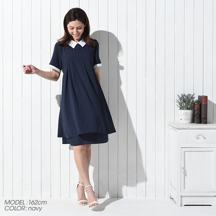 フォーマルワンピース[マタニティ服]71k-4104