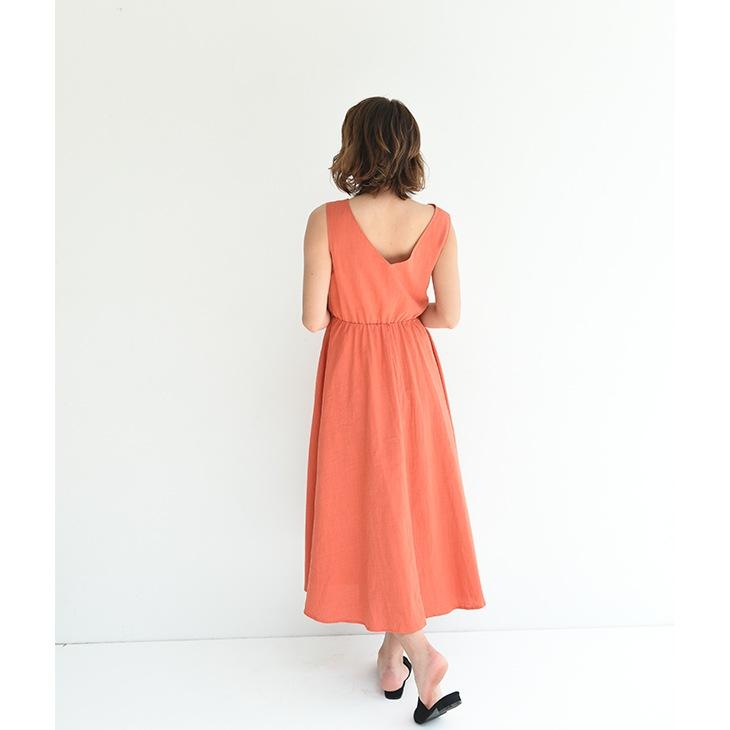 授乳コットンサマーワンピース【マタニティ服】81m13