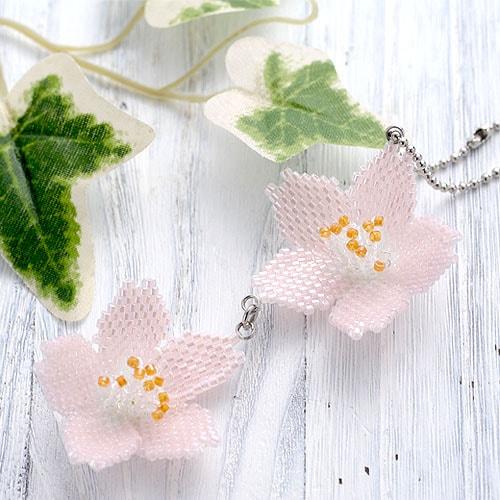 フラワーモチーフキット〜桜 〜