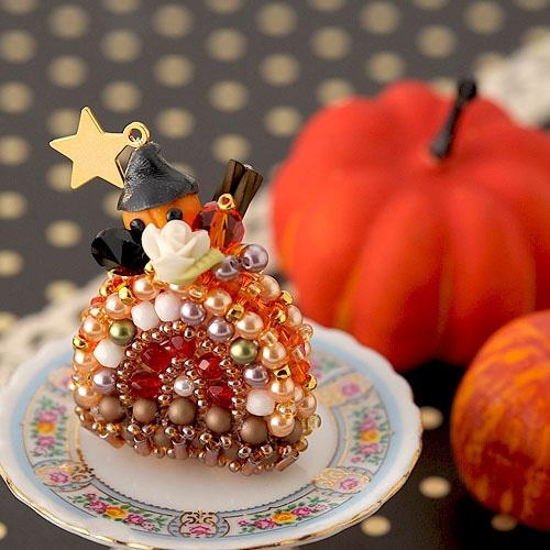 ハロウィン ロールケーキ
