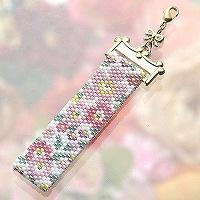 Flower Gardenストラップ(ピンク)
