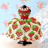 【ミニチュアドレスキット】strawberry
