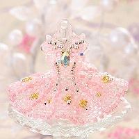 【ミニチュアドレスチャームキット】princess aurora