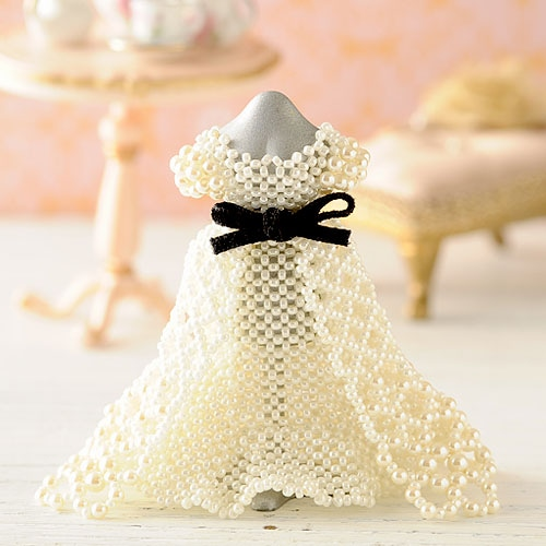 【ミニチュアドレスキット】ingrid wedding