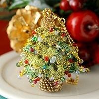 クリスマスツリーチャーム(グリーン)