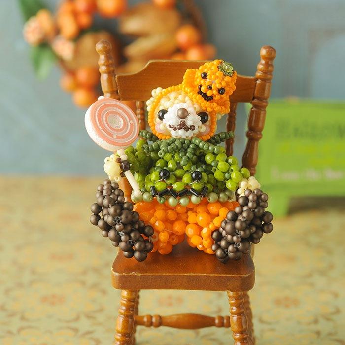 テディベアシリーズ〜ハロウィン・かぼちゃくん〜