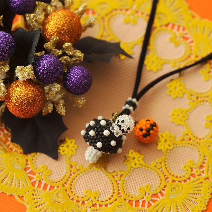 ハロウィン収穫祭〜プチプチきのこ〜黒