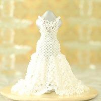【ミニチュアドレスキット】Crystal Wedding(クリスタルウェディング)