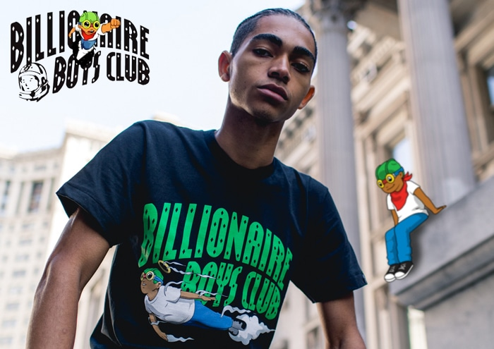 BILLIONAIRE BOYS CLUB x HEBRU