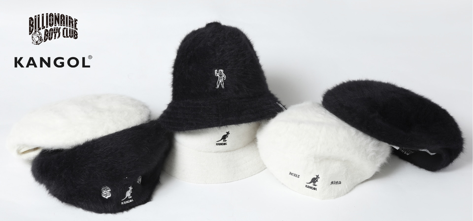 BILLIONAIRE BOYS CLUB x KANGOL