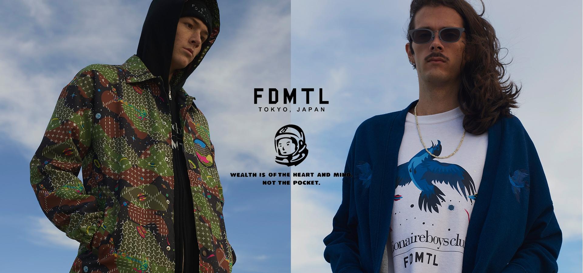 BILLIONAIRE BOYS CLUB x FDMTL