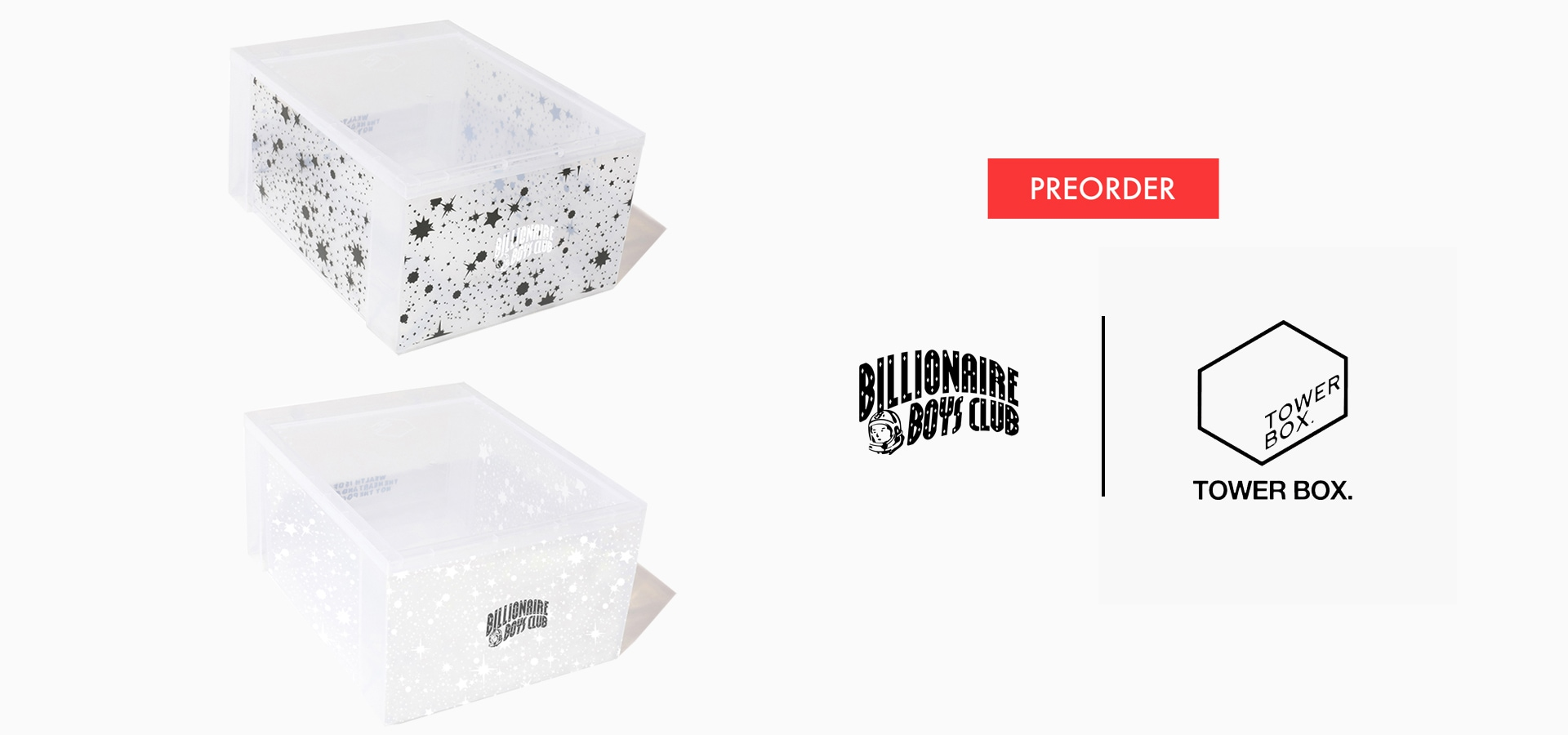 BILLIONAIRE BOYS CLUB × TOWER BOX (JP EXCLUSIVE)