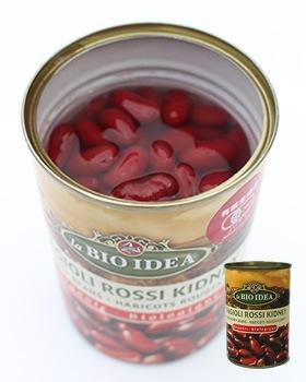 有機金時豆(缶詰)